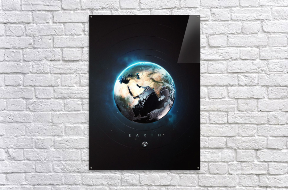 Destination Earth  Acrylic Print