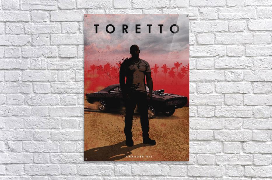 Dominic Toretto  Acrylic Print