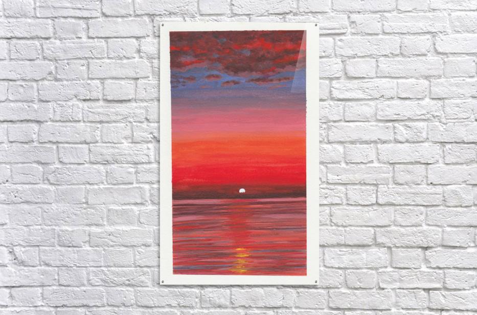 Ruby Night   Acrylic Print