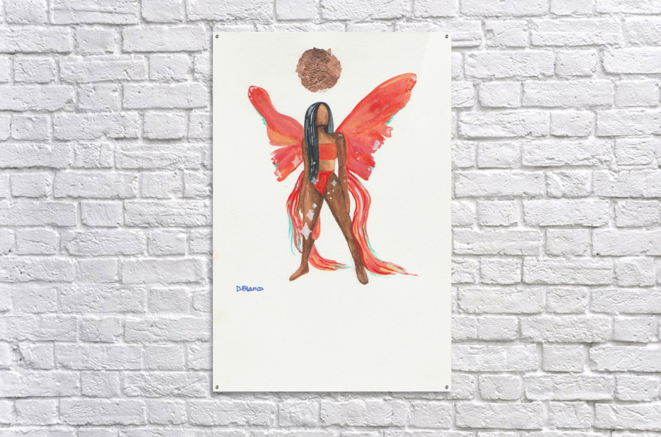 Sunchild  Acrylic Print