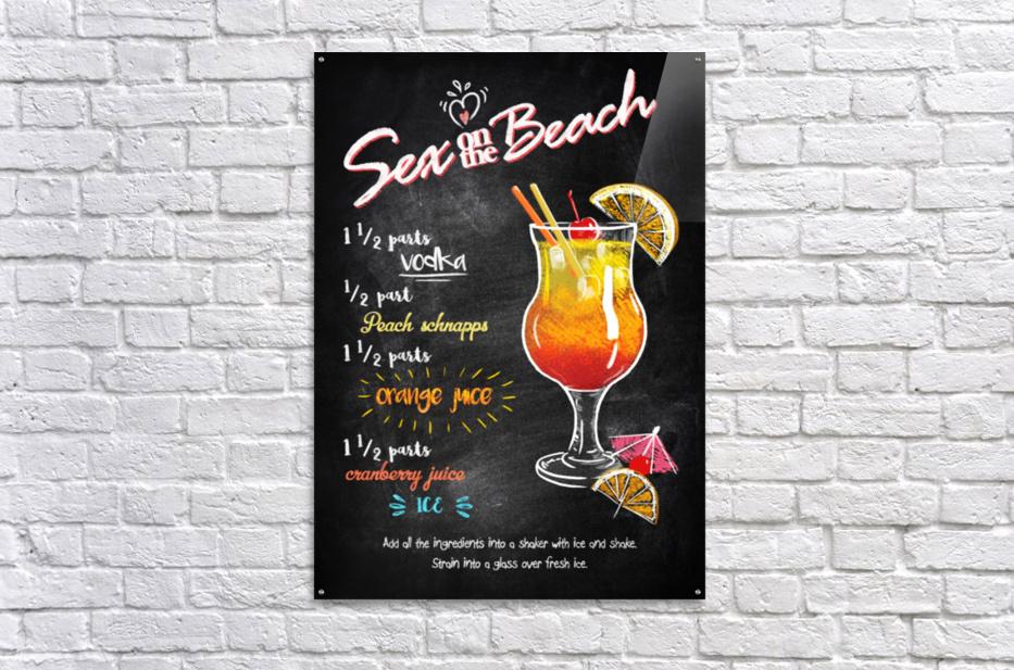 Sex on the Beach  Acrylic Print
