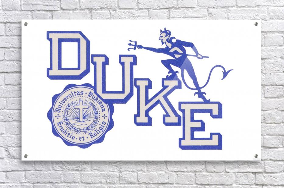 Vintage Duke University Art  Acrylic Print