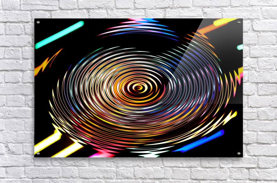 LUMI CIRCLE 001  Acrylic Print