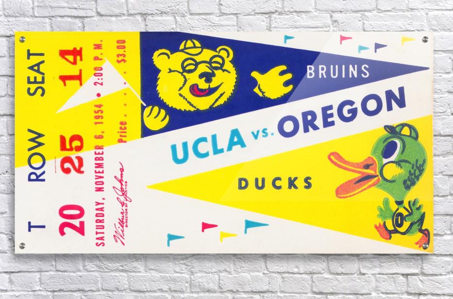 1954 UCLA vs. Oregon  Acrylic Print