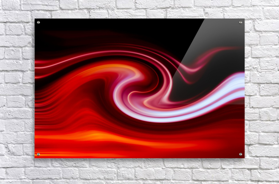 FIRE WAVE  Acrylic Print