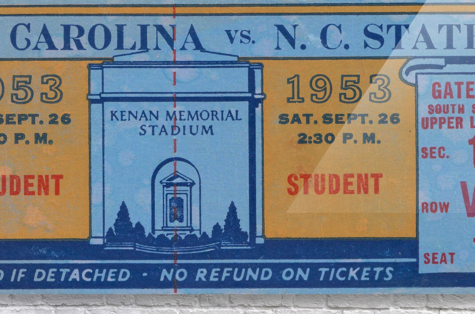 1953 North Carolina vs. NC State  Acrylic Print