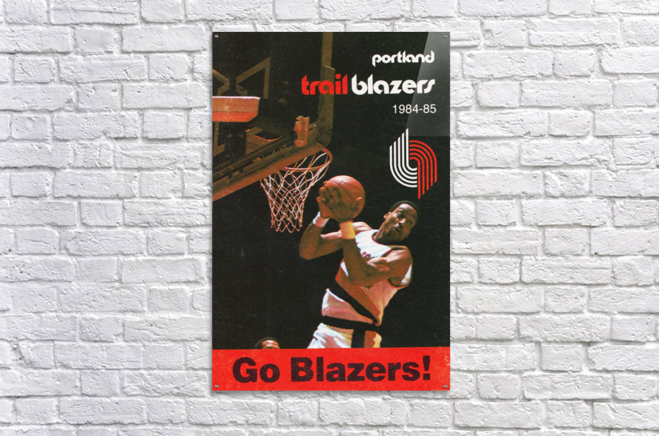1984 Portland Trailblazers  Acrylic Print