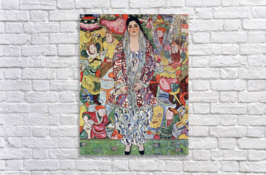 Portrait of Frederika Maria Beer by Klimt  Acrylic Print