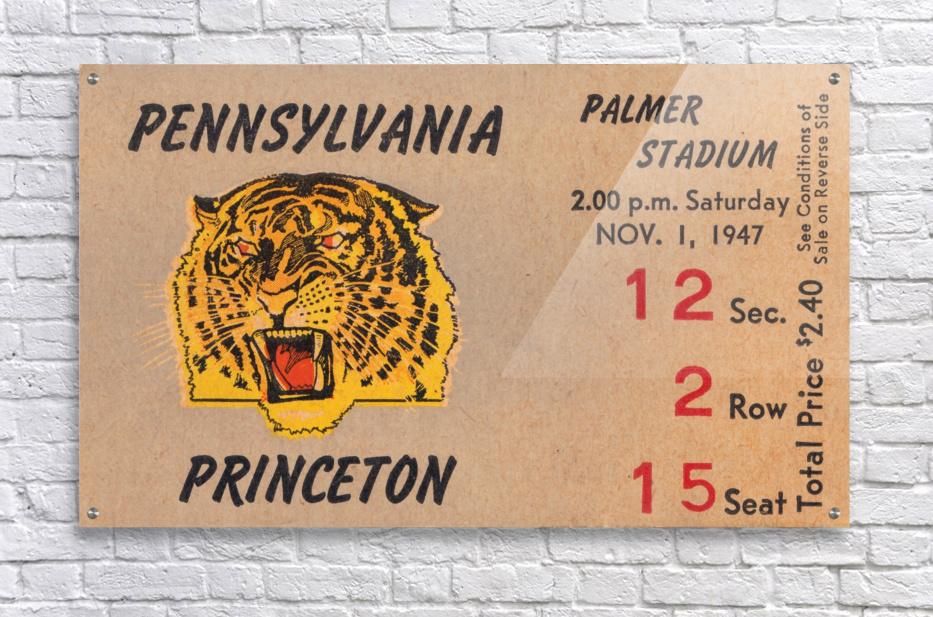 1947 Princeton vs. Penn  Acrylic Print