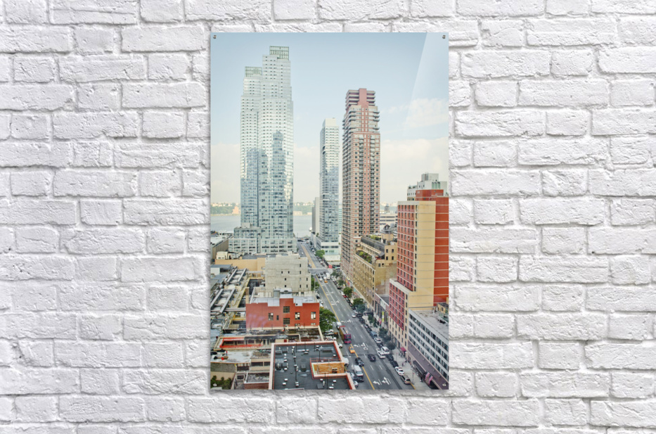 Architectural image of Hells kitchen Manhatten New york USA 2011  Acrylic Print