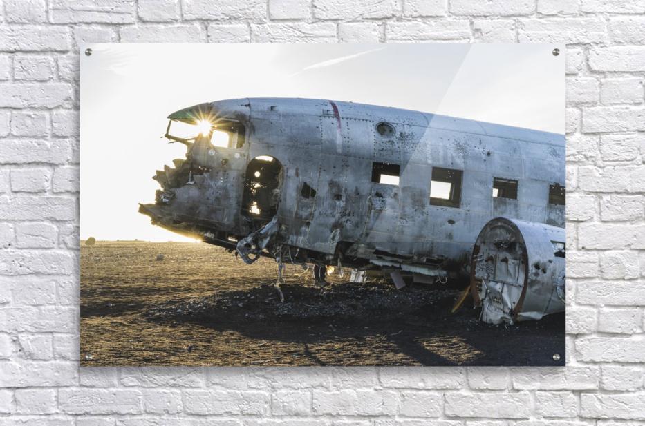 Solheimasandur Plane Crash Southern Region Iceland  Acrylic Print