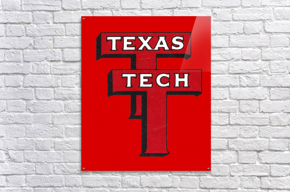 1948 Texas Tech Art  Acrylic Print