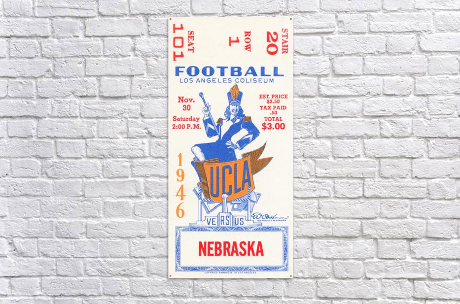 1946 UCLA vs. Nebraska  Acrylic Print