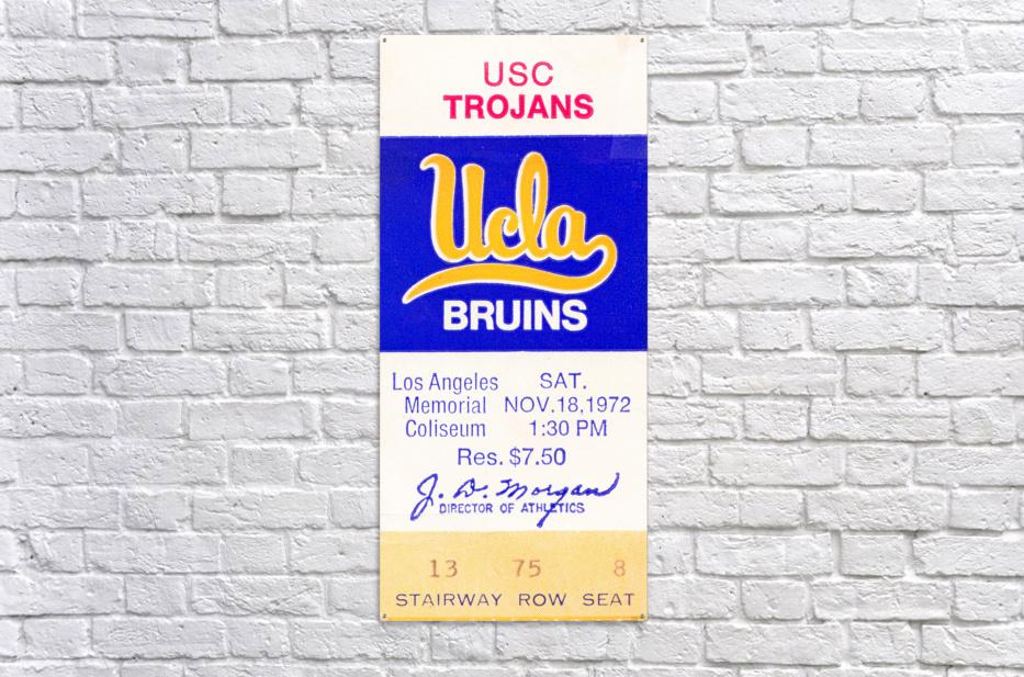 1972 USC vs. UCLA  Acrylic Print