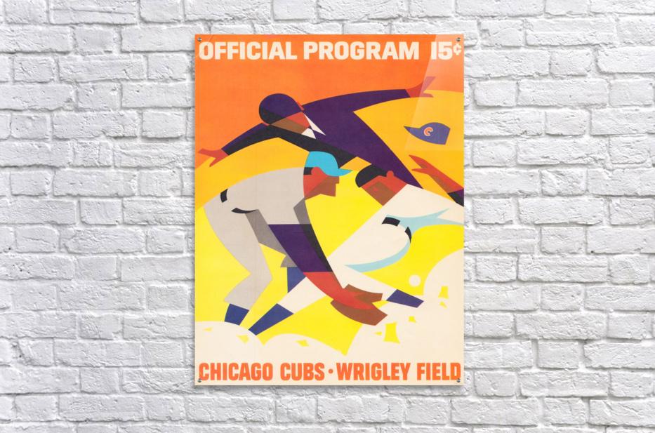 1967 Chicago Cubs Program  Acrylic Print