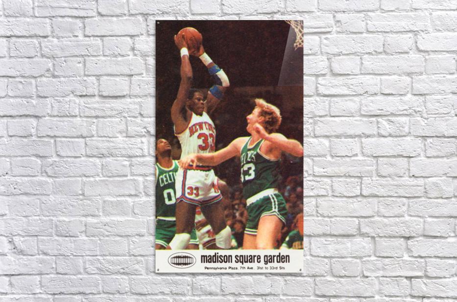 1986 New York Knicks  Acrylic Print