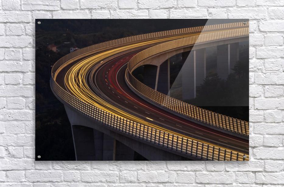Viadukt AŒrni Kal by Jaka Ivancic   Acrylic Print