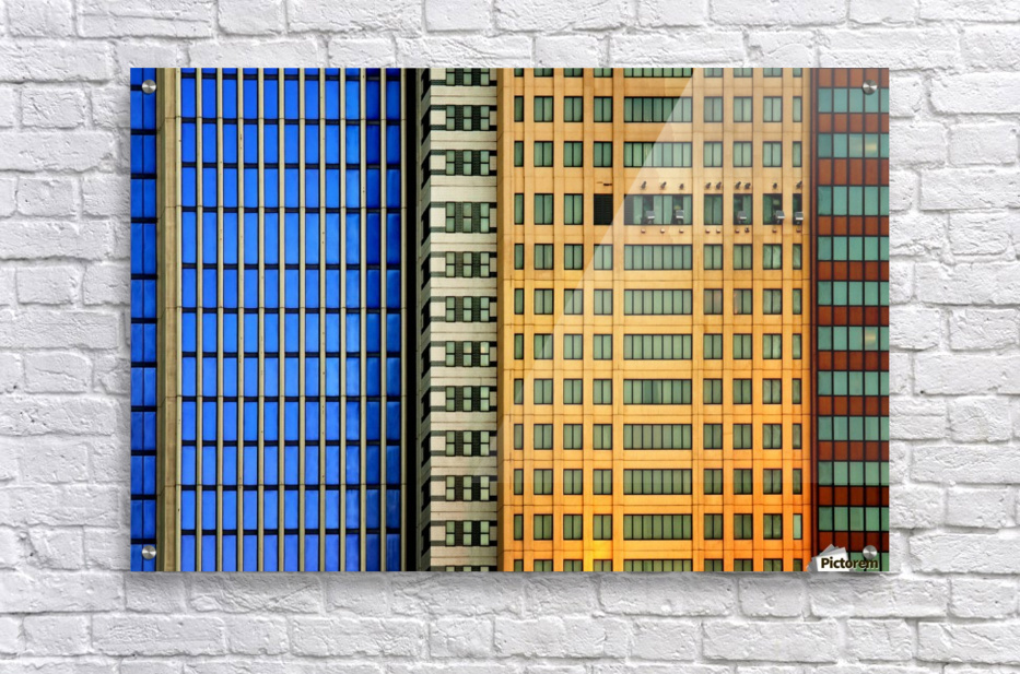 Windows on the City by So Sad Mathilde  Acrylic Print