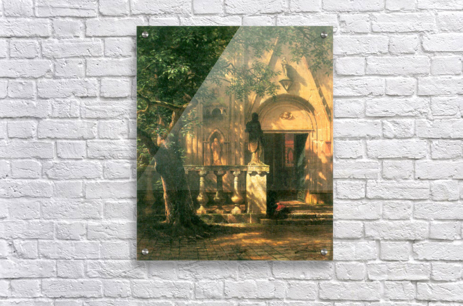 Sunlight and Shadow 2 by Bierstadt  Acrylic Print