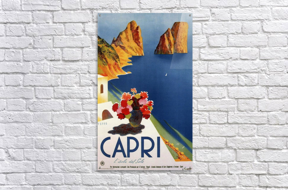 Vintage Capri  Acrylic Print