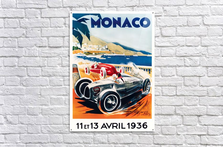 Monaco April 1936  Acrylic Print