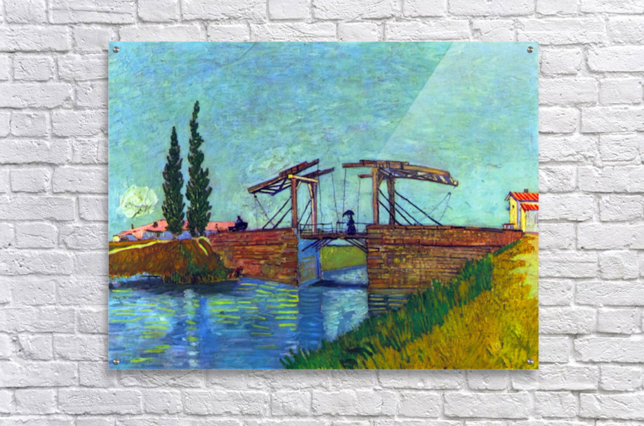 The Anglois Bridge at Arles (The drawbridge) by Van Gogh  Acrylic Print
