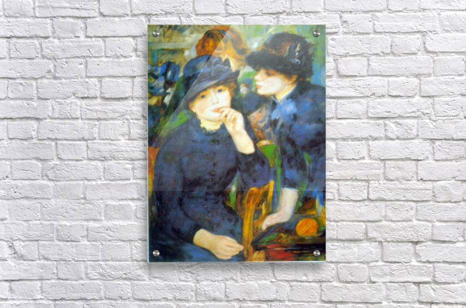 Two Girls by Renoir  Acrylic Print