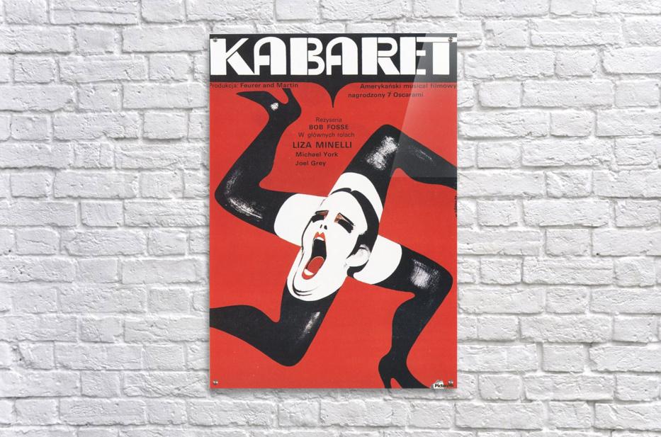 Polish Film Poster Cabaret Wiktor Gorka  Acrylic Print