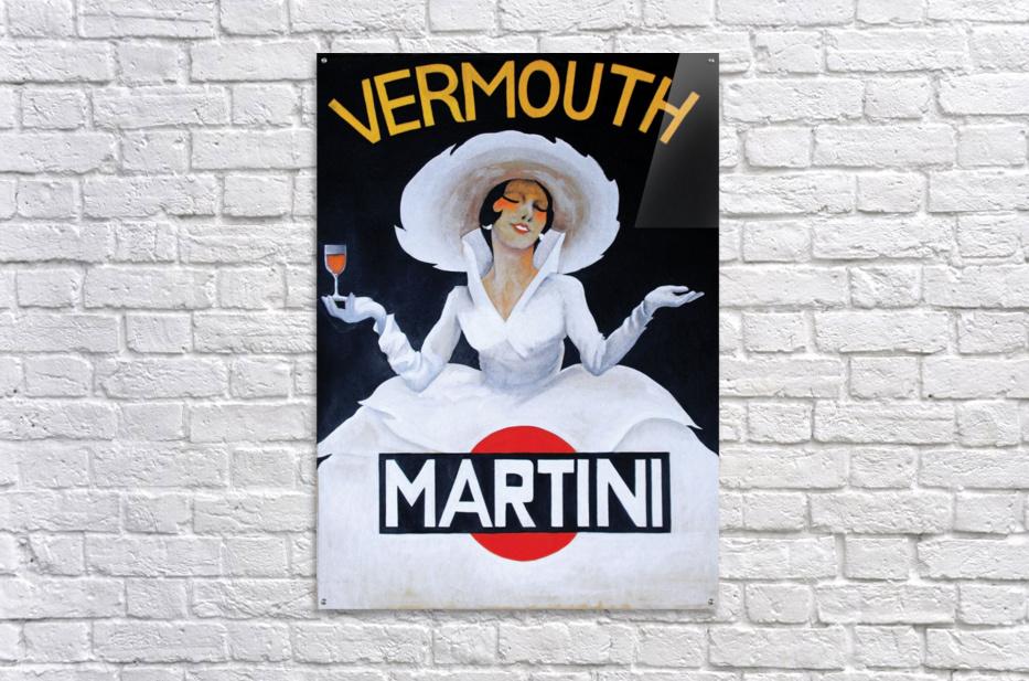Martini Rossi  Acrylic Print