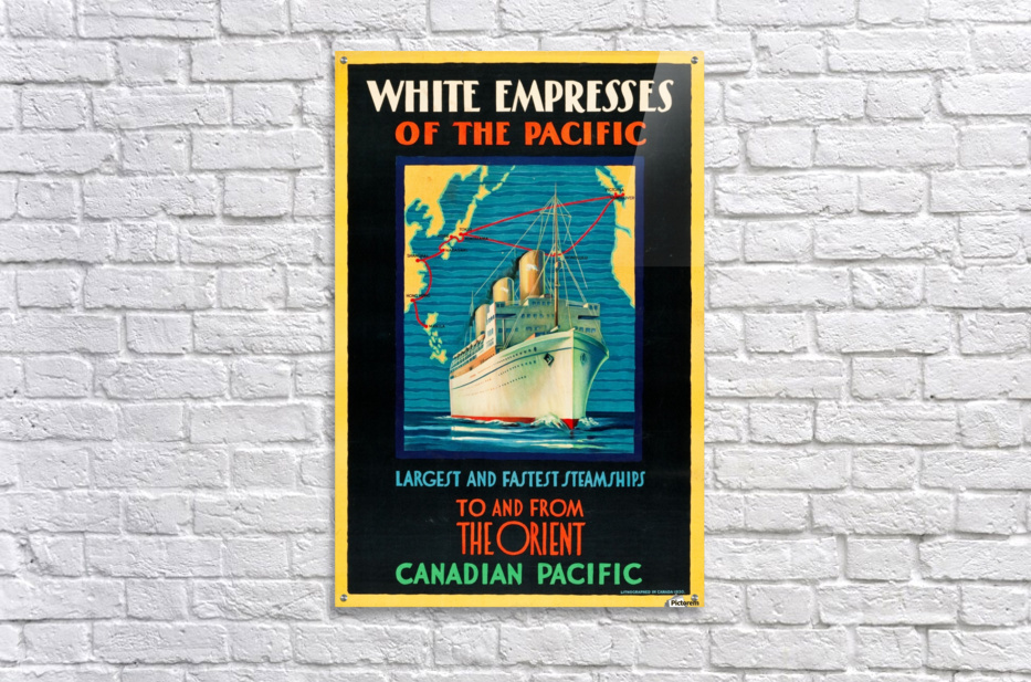 Canadian Pacific Travel Poster  Acrylic Print