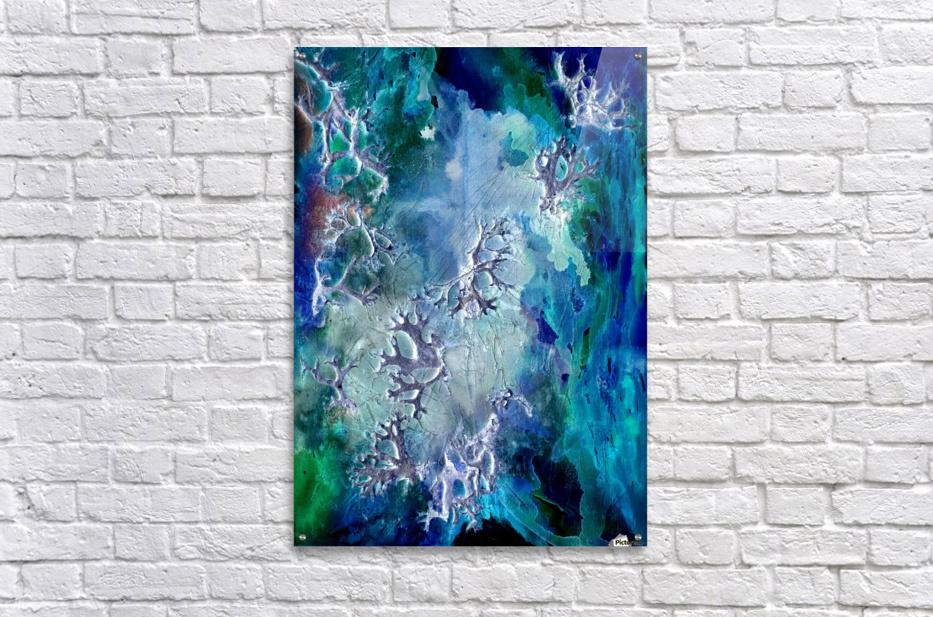 Lunar neuronal essence  Acrylic Print