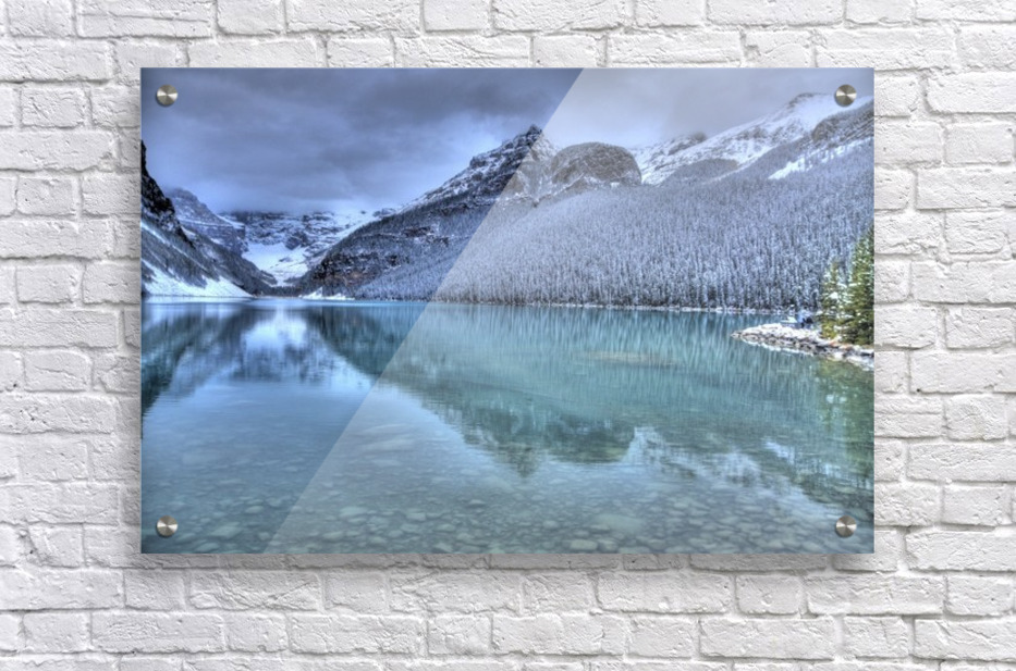 Lake Louise Winter  Acrylic Print