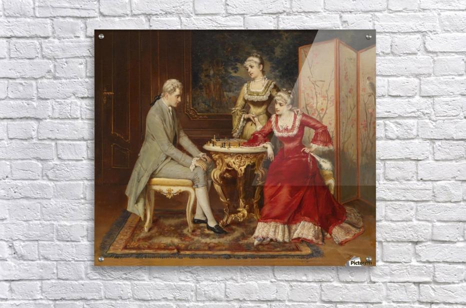 Chess game  Acrylic Print