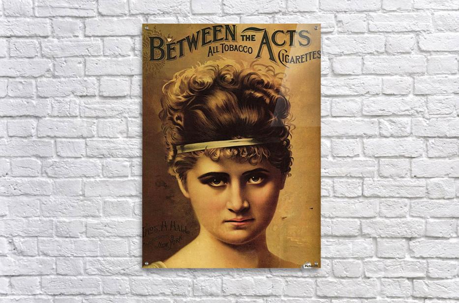 Vintage Cigarette Poster 1890  Acrylic Print