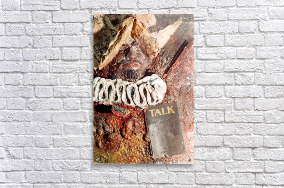 Talk  Acrylic Print