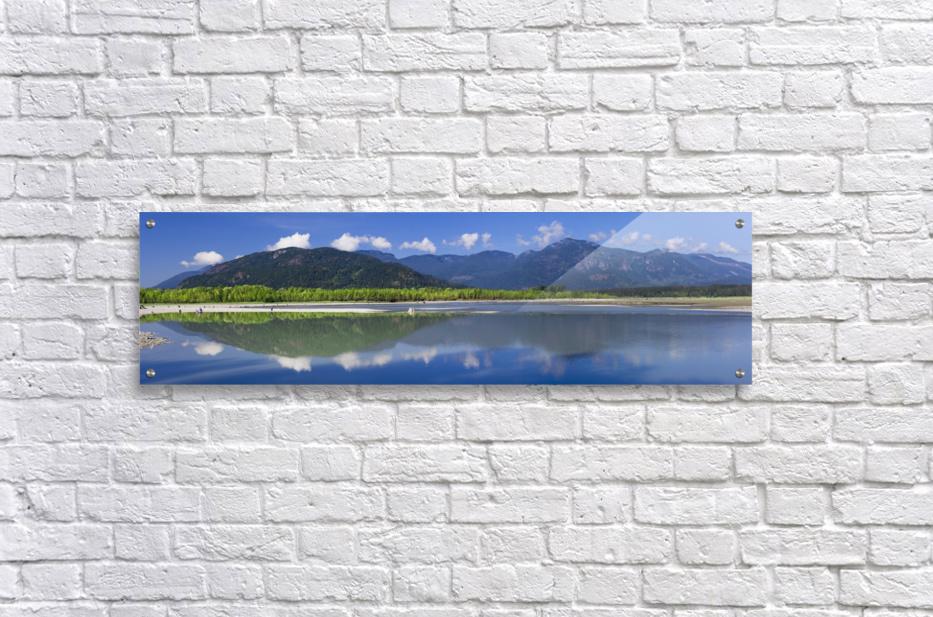 Peg Leg Bar in the morning; Chilliwack, British Columbia, Canada  Acrylic Print