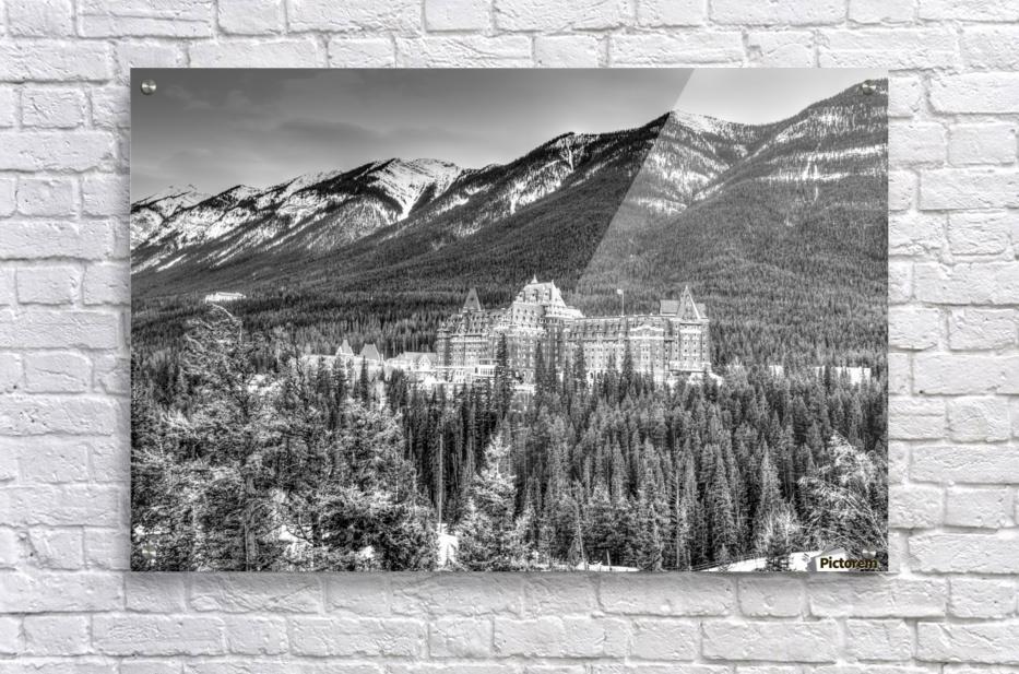 Banff_Hotel  Acrylic Print