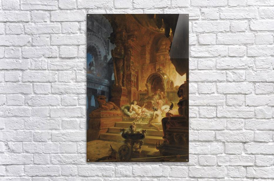 Scheherazade and the Sultan  Acrylic Print