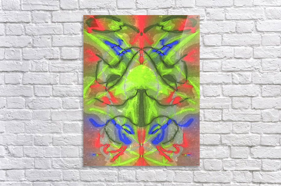 Graph  Acrylic Print