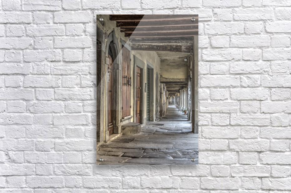 Italian Arcade  Acrylic Print