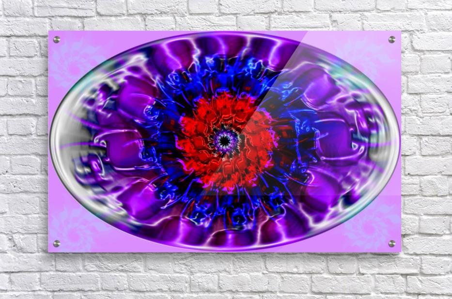 Fractal Eye  Acrylic Print
