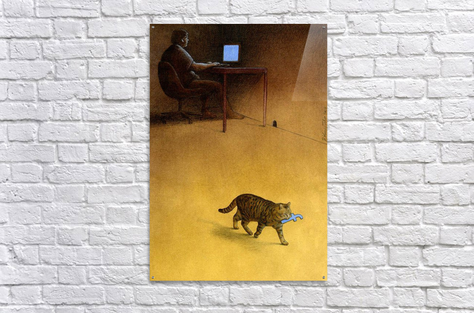 Modern Hunter  Acrylic Print