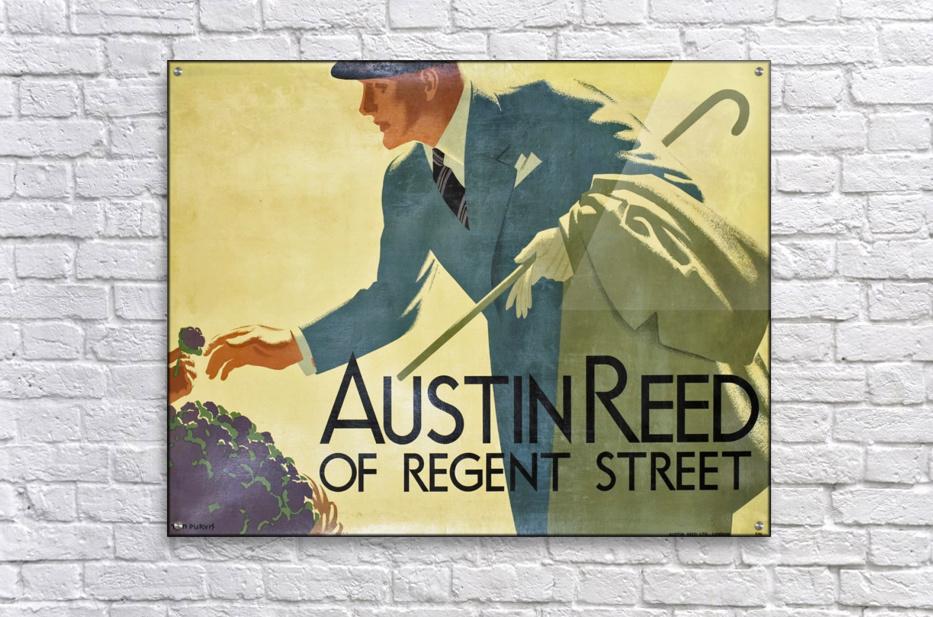 Austin Reed Of Regent Street Vintage Poster Vintage Poster