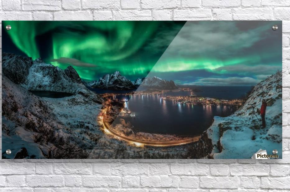 Chasing the Northern Lights  Acrylic Print
