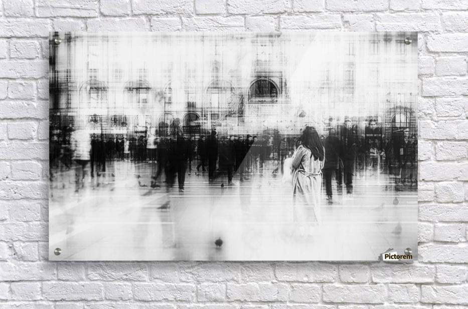 Lost among ghosts  Acrylic Print