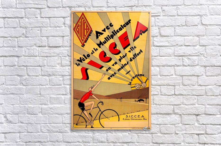 SICCEA original vintage poster  Acrylic Print