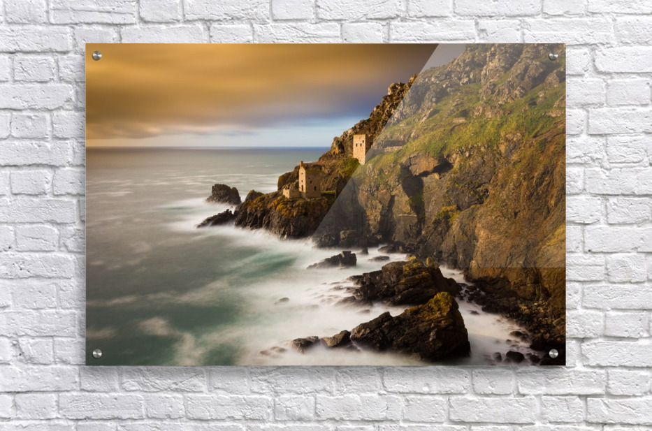 Botallack in 40 seconds  Acrylic Print