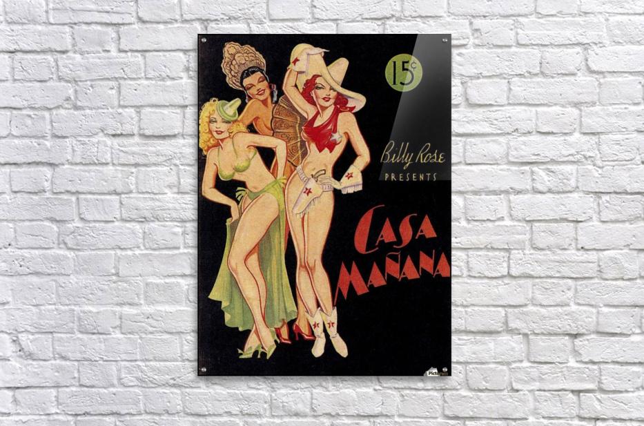 Billy Rose presents Casa Manana  Acrylic Print