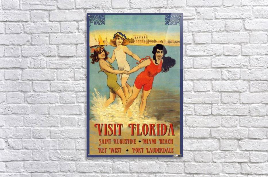 Visit Florida  Acrylic Print