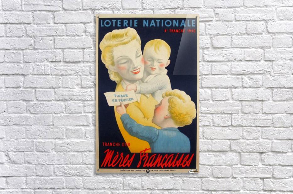 Loterie Nationale Tranche des Meres Francaises  Acrylic Print